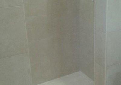 Bathroom tiled