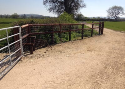 Another style for the public footpath installed