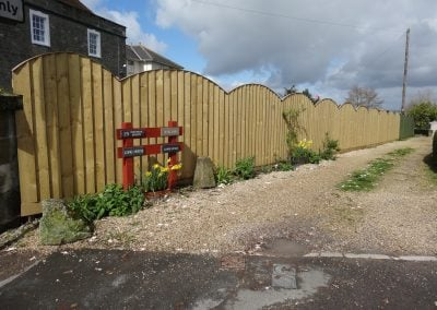 New Fence in