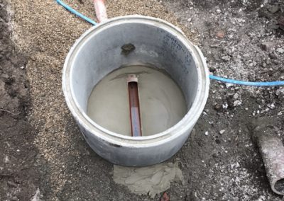New manhole installed