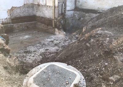 New manhole installed