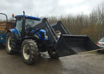 Tractor and loader